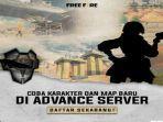Cara Daftar Advance Server Free Fire Ff Berikut Langkah Langkahnya Tribun Sumsel
