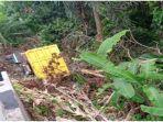Viral Truk Masuk Jurang di Tanjung Kemala OKU Timur, Begini Kondisi Pengemudi