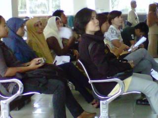 AC di Ruang Tunggu  Imigrasi Palembang Tidak Berfungsi