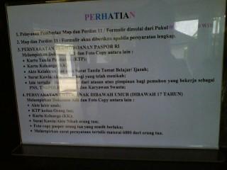 Biaya Paspor Melalui Calo di Imigrasi Palembang Rp 500 Ribu