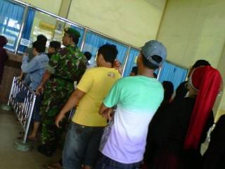 Server  di Loket Karcis  Stasiun KA Palembang Gangguan