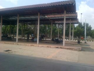 Pedagang Sesaki Terminal Karyajaya Palembang - pedagang_terminal_karyajaya_Palembang.jpg