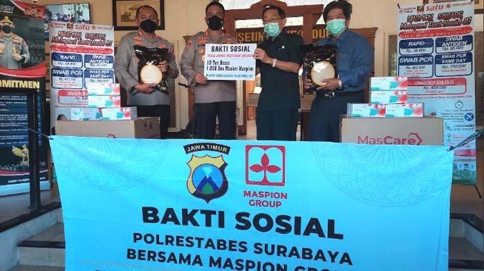 10 Ton Beras dan 50.000 Masker Medis dari Maspion Group untuk Warga Terdampak Pandemi