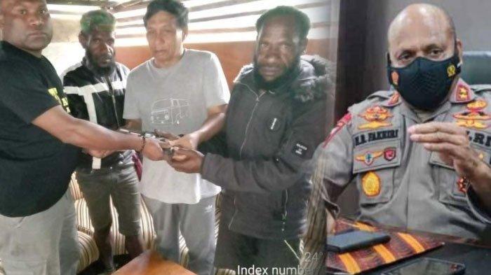 KKB Papua Kocar-kacir setelah Pimpinan Sadisnya Ditangkap, 2 Orang Menyerahkan Diri Bawa Revolver