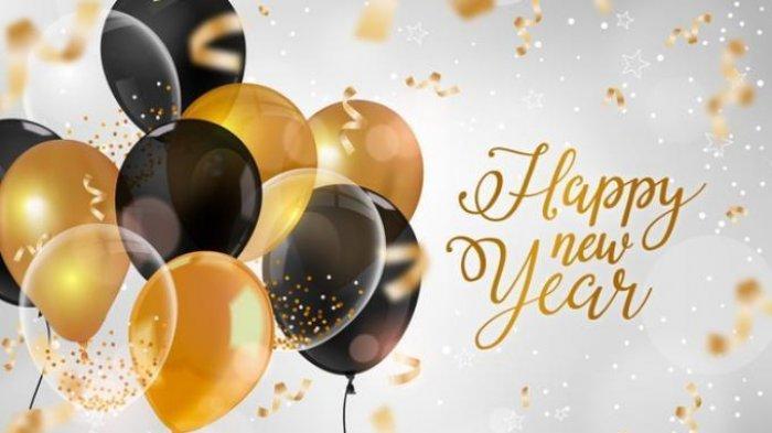 Ucapan Selamat Tahun Baru 2021