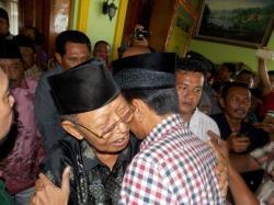 Jokowi Minta Restu Pimpinan Tarikat Shiddiqiyyah Jombang