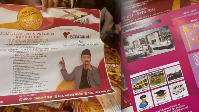 3 Fakta Modus Penipuan Perumahan Syariah di Sidoarjo Rp 1 T, Foto Ustadz Yusuf Mansur Ada di Brosur
