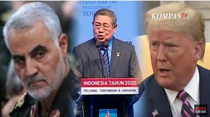 3 Pendapat SBY Soal Konflik Iran dan AS, Singgung Soal Perang Dunia dan Tewasnya Qassem Soleimani