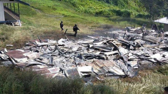 Situasi Terkini Kabupaten Puncak Setelah KKB Papua Bakar Sekolah, Willem Wandik Ungkap Kerugian