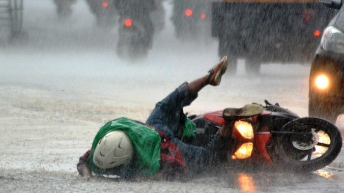 PRAKIRAAN CUACA - Siang Ini Kota Batu Diprediksi Hujan Petir
