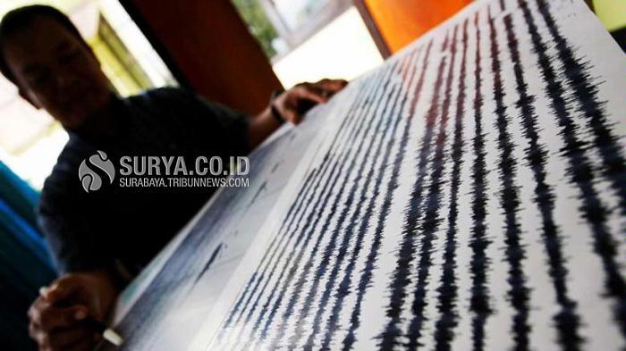 BREAKING NEWS Gempa Bumi Guncang Kota Surabaya dan Sekitarnya