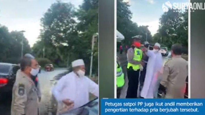 4 FAKTA Habib Umar Assegaf Cekcok ke Petugas PSBB Surabaya, Asmadi Anggota Satpol PP Lapor ke Polda