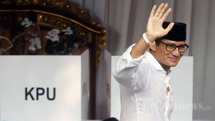 5 Fakta Kondisi Sandiaga Uno Saat 3 Kali Deklarasi Kemenangan Prabowo, Ternyata Kena Penyakit ini