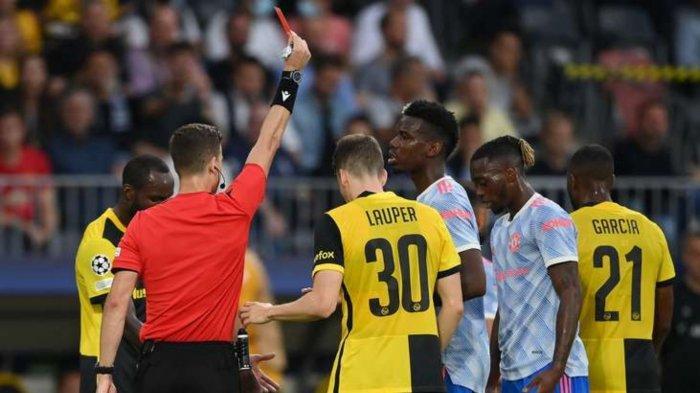 Hasil Skor Young Boys vs Man United 2-1: Wan Bissaka Kartu Merah, Setan Merah Keok Lawan Tim Swiss