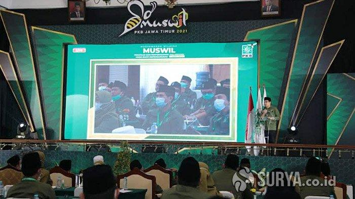 Untuk yang Ketiga Kalinya, Abdul Halim Iskandar Kembali Terpilih Jadi Ketua PKB Jatim
