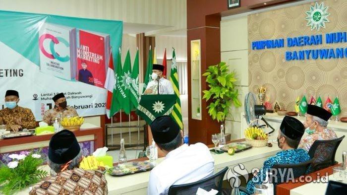 Jelang Bupati Anas Purna Tugas, Muhammadiyah Banyuwangi Gelar Bedah Buku
