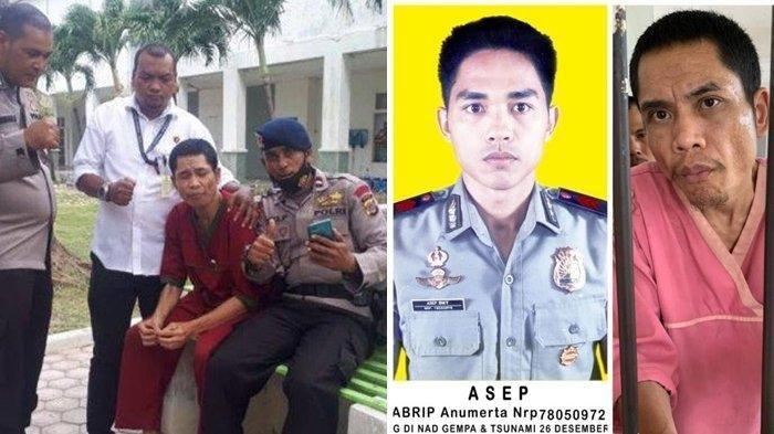 ISTIMEWA VIA TRIBUNMEDAN Abrip Asep Akhirnya Ditemukan Setelah 17 Tahun Menghilang dari Tsunami Aceh.
