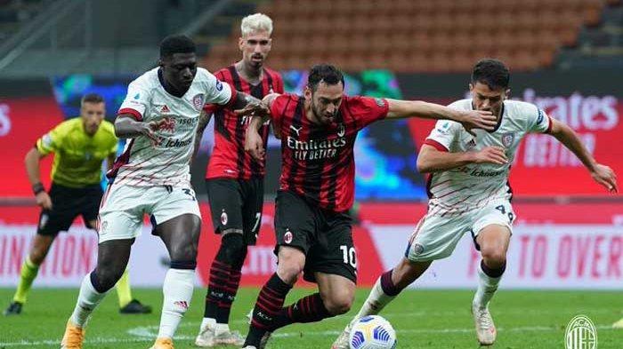 Hasil dan Klasemen Liga Italia - AC Milan Gagal Lolos Liga Champions Lebih Cepat