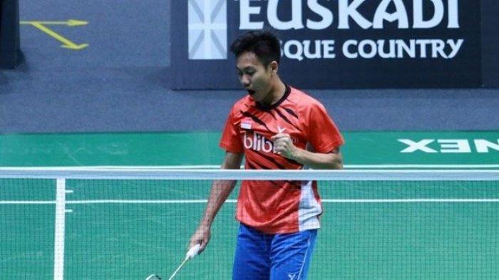 Ade Resky Dwicahyo. Pebulutangkis Indonesia yang membela Azerbaijan dalam Olimpiade Tokyo 2020.
