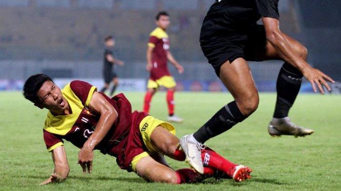 Gelandang Persik Kediri Ungkap Perasaanya Usai Cetak Gol Perdana di Liga 1