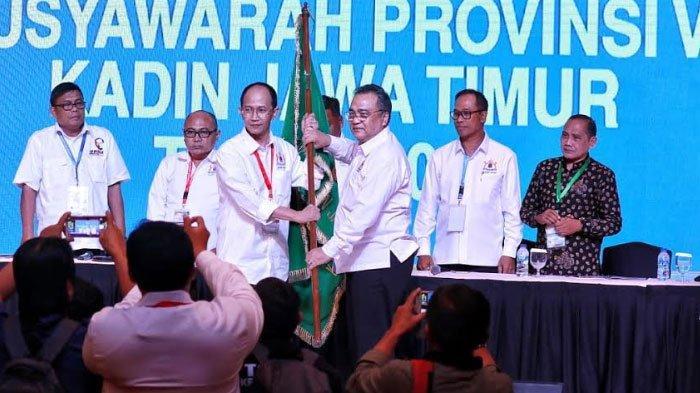 Adik Dwi Putranto Gantikan La Nyalla Mattalitti Jadi Ketua Kadin Jatim 2019-2024
