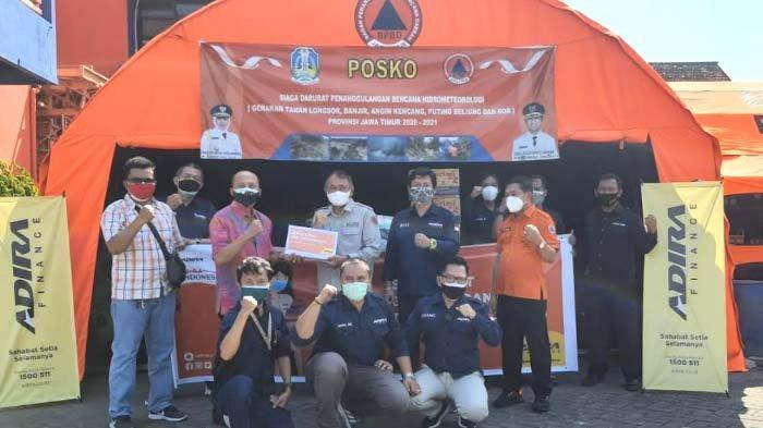 Adira Finance Salurkan Donasi Sembako dan Masker kepada Masyarakat Jatim, DukungPemprov Atasi Covid