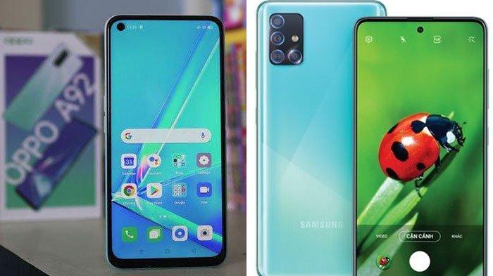 Adu Spesifikasi Oppo A92 vs Samsung Galaxy A51 di Indonesia, Selisih Harganya Cuma Rp 100 Ribuan