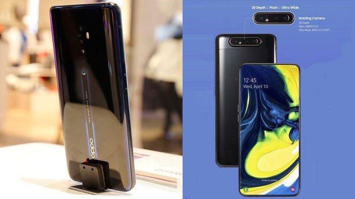 Adu Spesifikasi Oppo Reno2 vs Samsung Galaxy A80, Prosesornya Sama Tapi Harga Beda Rp 1,5 Jutaan