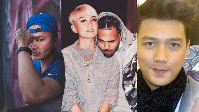 Agnez Mo Mesra Dengan Chris Brown, Begini Kondisi Kedua Mantannya Wijaya Saputra & Dirly Dave
