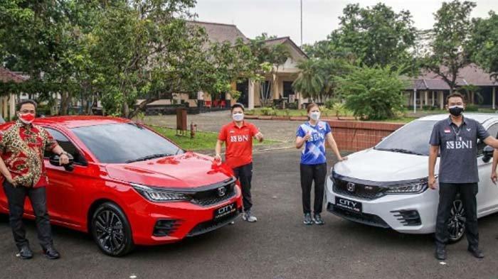 Greysia dan Apriyani kembali Dapat Apresiasi Dengan Dapat Mobil Honda City Hatchback RS