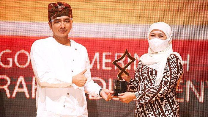 Peduli Penyiaran, Pemerintah Provinsi Jawa Timur Menerima Penghargaan Komisi Penyiaran Indonesia