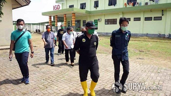 Jumlah Kasus Covid-19 di Kabupaten Meningkat, Kaji Mbing Sidak Dua Rumah Sakit