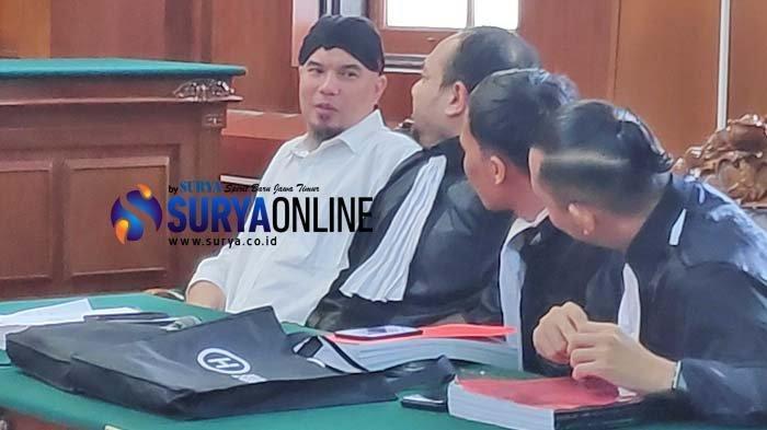 Kronologi Kasus Vlog 'Idiot' Versi Ahmad Dhani Diungkapkan di Depan Hakim PN Surabaya
