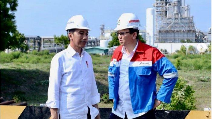 Makna Pose Ahok Berkacak Pinggang di Depan Jokowi Diungkap Pakar Ekspresi, Singgung Kedekatan