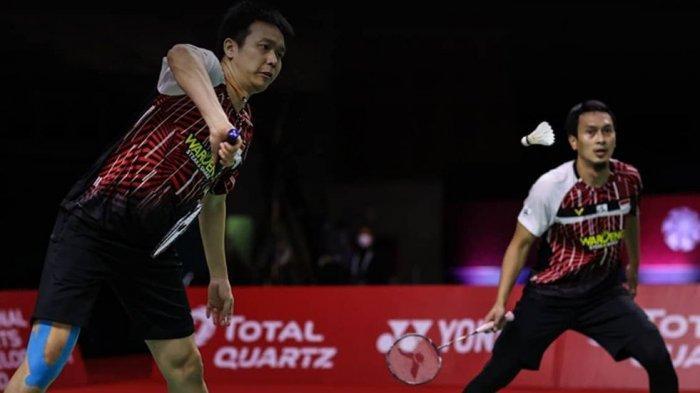 LENGKAP Hasil dan Jadwal BWF World Tour Finals: Ahsan/Hendra Hadapi Lee/Wang di Babak Final