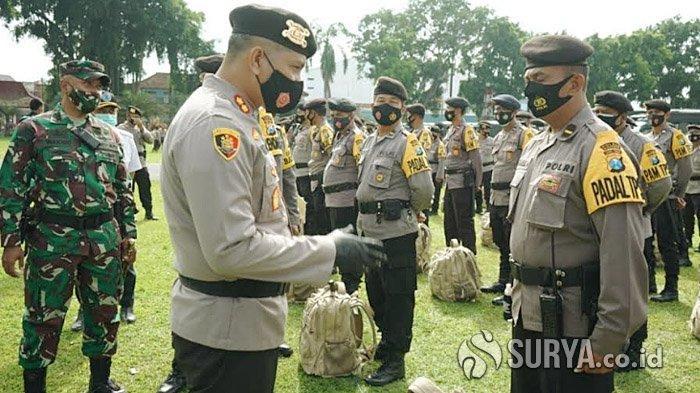 Polres Blitar Kota Terjunkan 760 Personel Gabungan untuk Pengamanan Pilkada Serentak 2020