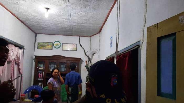 Dampak Gempa Blitar Akibatkan 19 Rumah di Lumajang Rusak