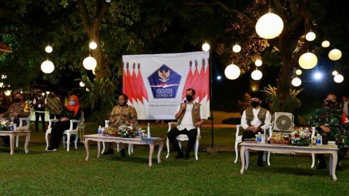 Presiden Jokowi ke Banyuwangi Bawa Pesan New Normal Wisata Wajib Diiringi Protokol Ketat