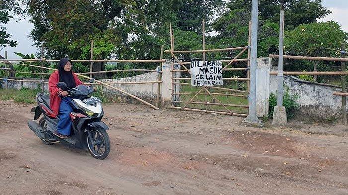 Warga Blokir Akses Masuk Ke Situs Kumitir Mojokerto, Ini Gara-garanya