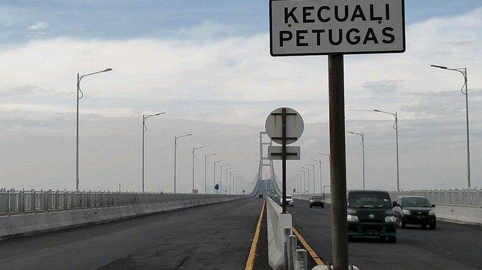 Jembatan Suramadu Diblokir untuk Mudik, Hanya Empat Kegiatan Yang Diizinkan Melintas