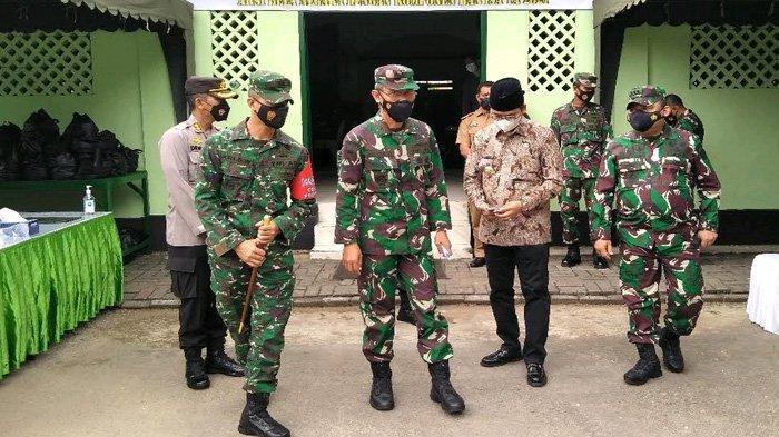 Buka Aksi Bela Negara di Bangkalan, Waaster Panglima TNI Sebut Salah Satunya Melawan Covid-19