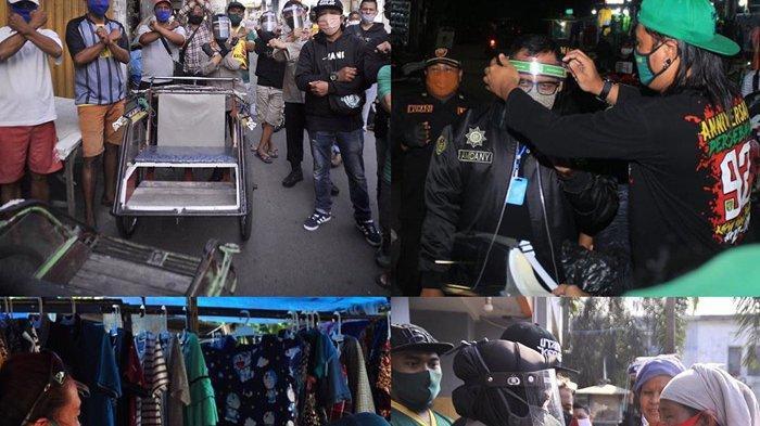 Bonek Kian Total Gelorakan Gerakan Wani Lawan Covid-19 di Surabaya