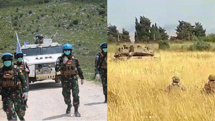 Aksi Prajurit TNI Hadang Tank Markava Israel yang Nyaris Adu Tembak dengan Lebanon, ini Kronologinya