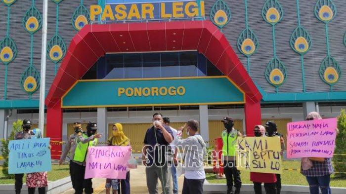 Pedagang Pasar Legi Ponorogo Akan Dilibatkan dalam Pembagian Lapak yang Belum Tuntas