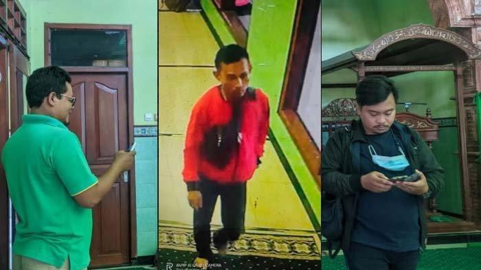 Ciri-ciri Pelaku Pencurian Pengeras Suara Masjid di Mojokerto yang Aksinya Terekam Kamera CCTV