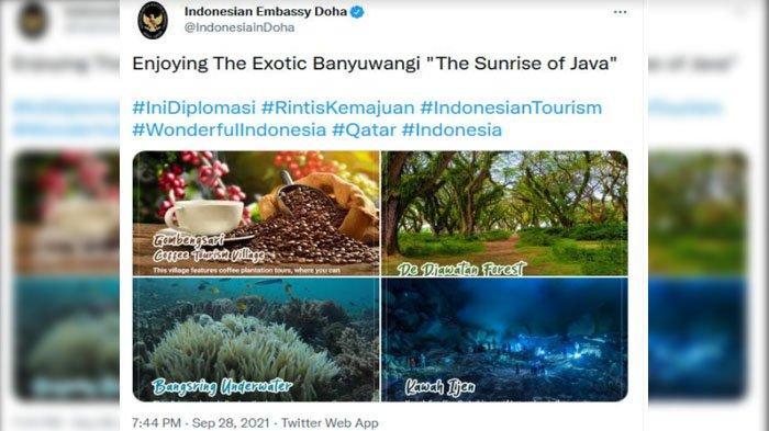 Kedutaan RI Berbagai Negara Ramai-Ramai Promosikan Wisata di Kabupaten Banyuwangi