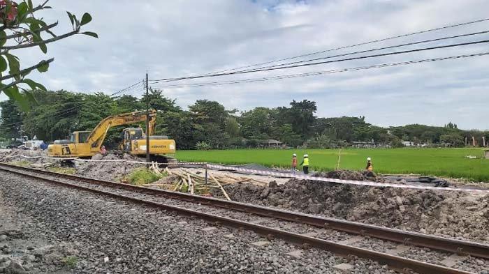 Frontage Road Waru-Buduran Sidoarjo mulai Dikerjakan, Sebagian masih Terkendala Pembebasan Lahan