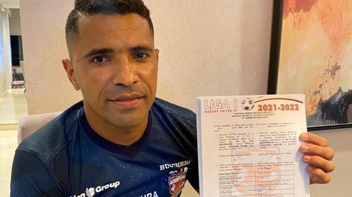 Alberto Goncalves Awali Tanda Tangan Kontrak Baru di Madura United di Musim 2021