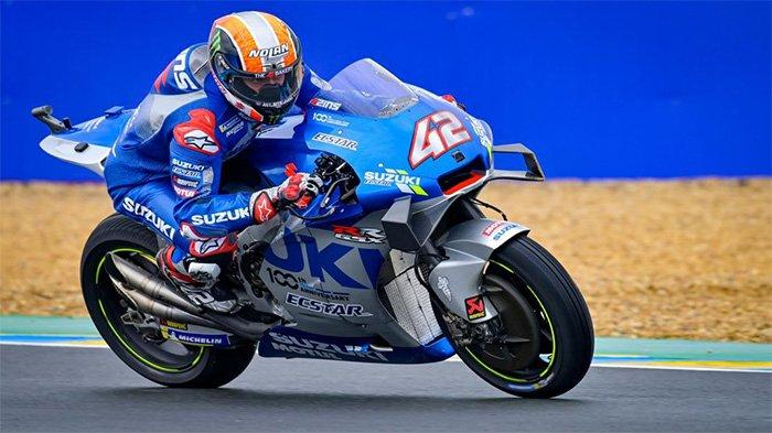 Hasil MotoGP Aragaon 2020: Alex Rins Kuasai Balapan, Pole Sitter Fabio Quartararo Nihil Poin