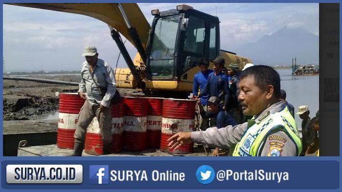 Antisipasi Hujan, BPLS Buat Jalur Baru  Aliran Lumpur